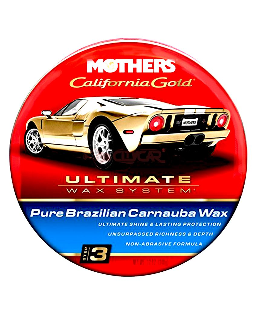 Mothers complete ultimate wax system kit mothers 07240 california gold clay bar