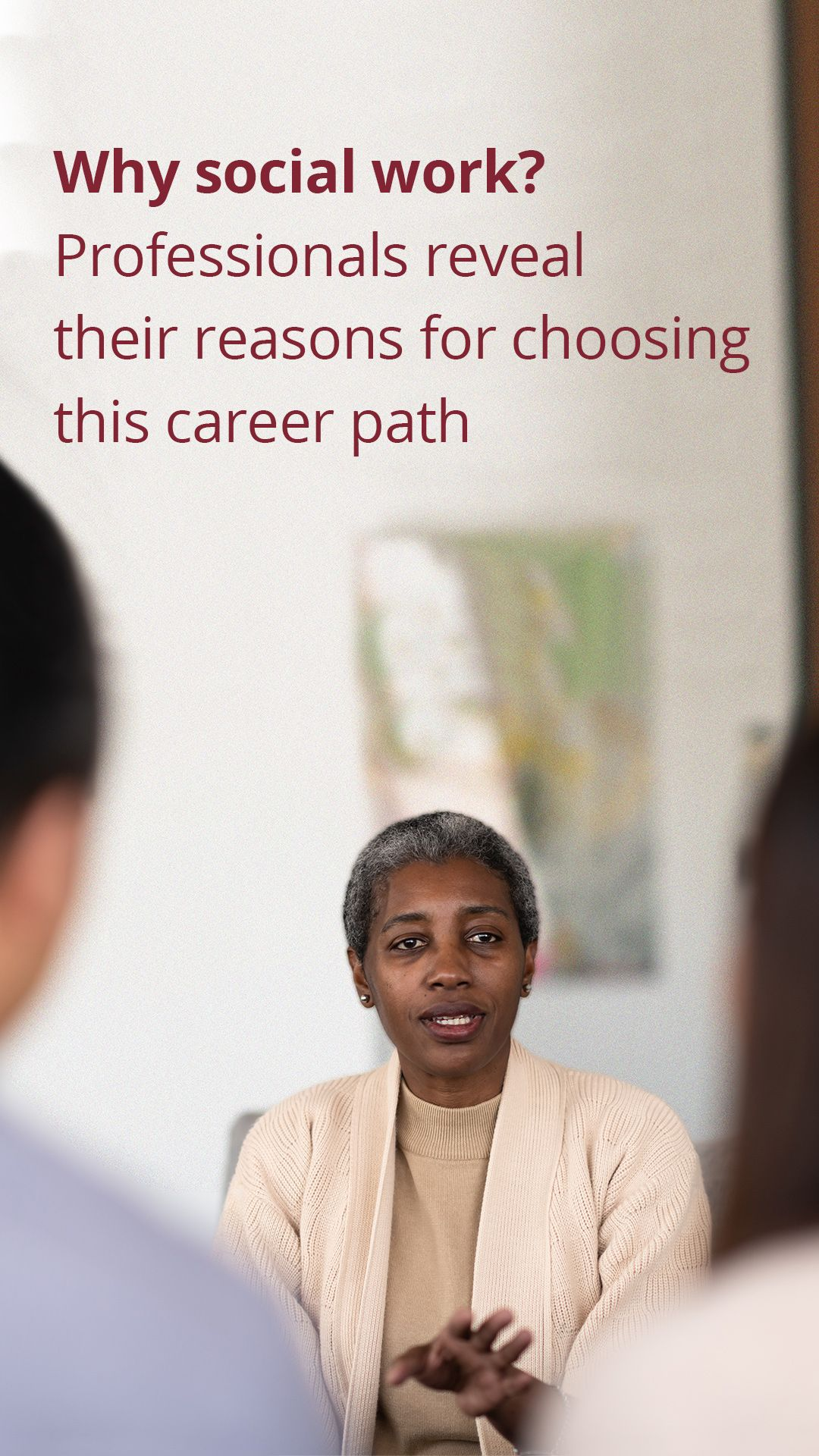 Why Social Work Professionals Reveal Their Reasons For Choosing This Career Path Social Work Degree Jobs Social