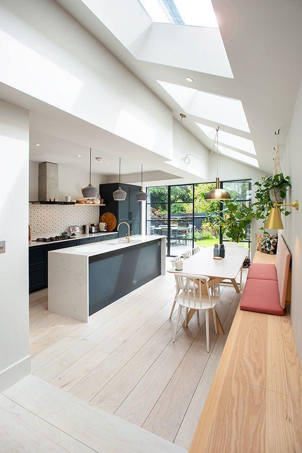 Clean Kitchen In 2020 Open Plan Kitchen Living Room Kitchen Interior Dining Room Design