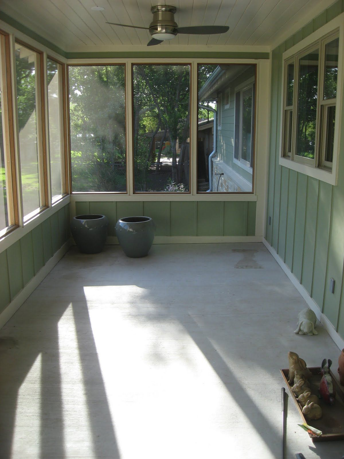 Batten Inside Screen Porch Google Search Porch Paint Screened In Porch Modern Porch