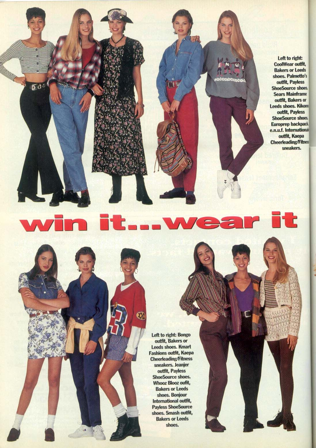 1993 09 fashion | TEEN magazine / Seventeen magazine ...