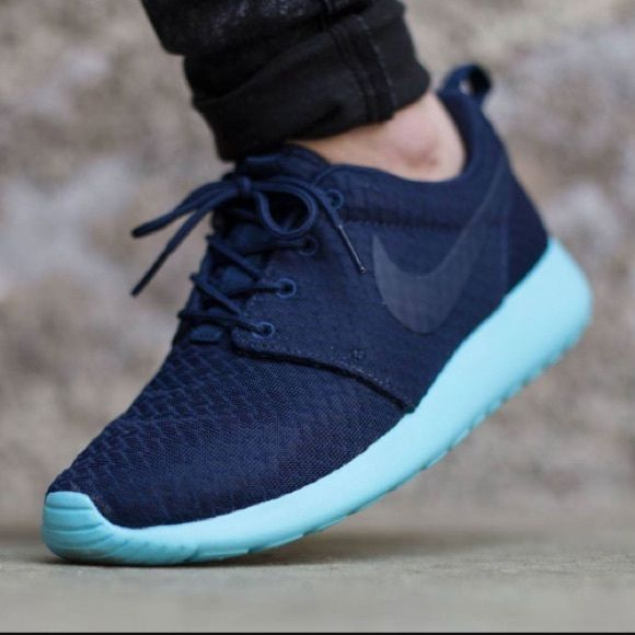 the best attitude 0cf97 b625a Womens Nike Roshe One Casual Shoes Brand New Shoes are brand new, box top  not included. Style  511882 444 Color Midnight NavyTide Pool Blue.