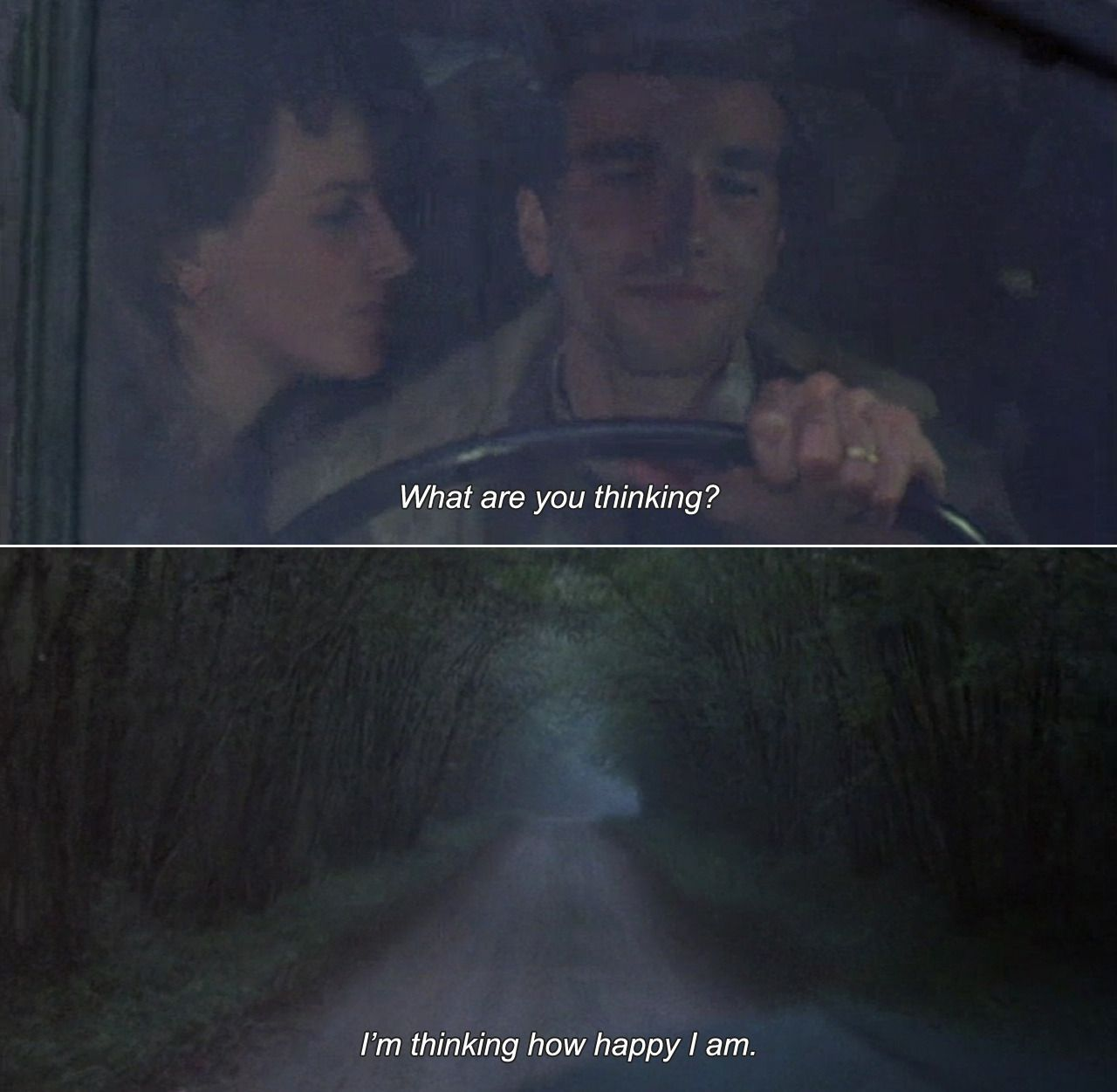 The Unbearable Lightness Of Being 1988 Tereza What Are You Thinking Tomas I M Thinking How Happy I Am Best Movie Quotes Movie Captions Movie Quotes
