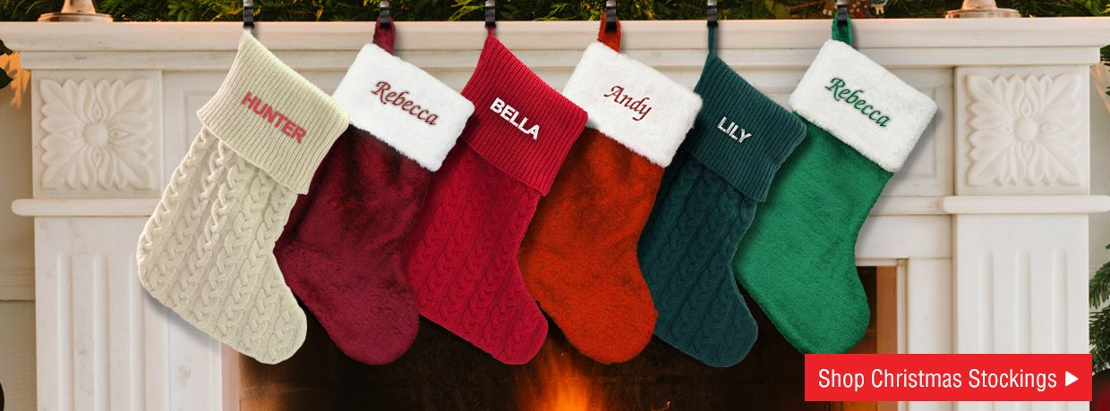 Best Selling and Fan Favorite Personalized Christmas Stockings