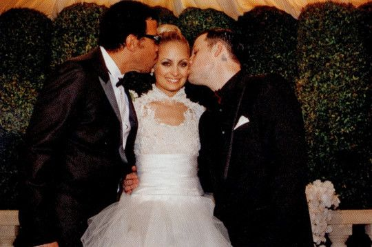 More Nicole Richie Wedding Dress Photos Revealed | Joel madden ...