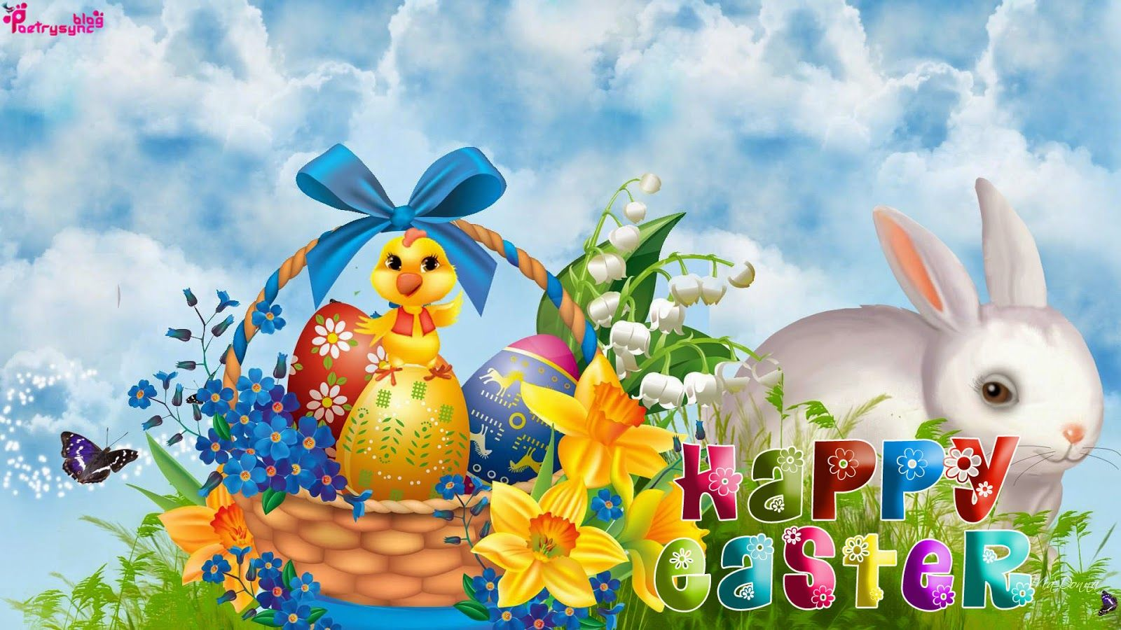1000 Images About Easter Wallpaper On Pinterest: Easter Sunday HD Wallpaper With Wishes Message