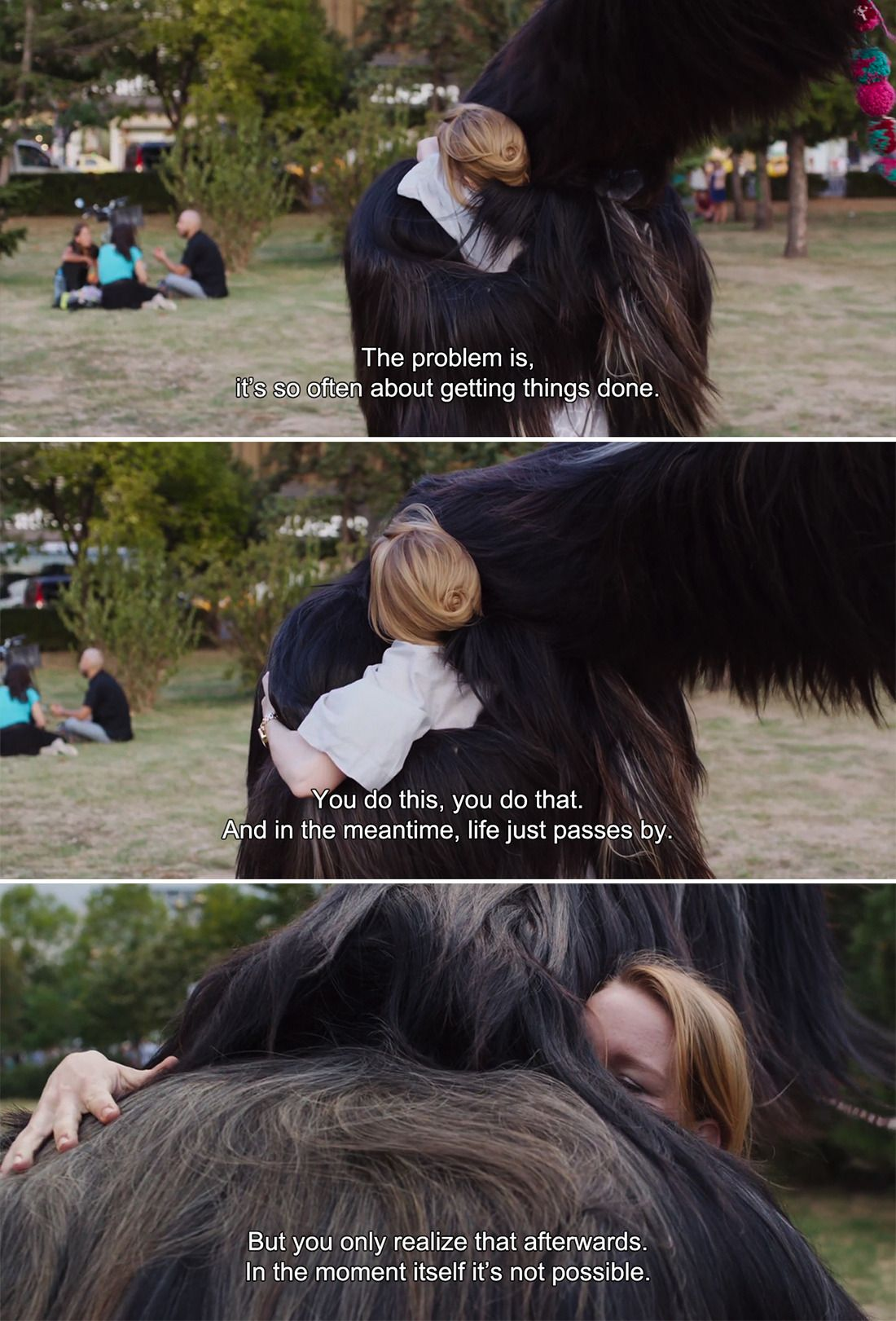 Toni Erdmann 2016 Winfried The Problem I It S So Often About Getting Thing Done You Do Thi Th In Moment Movie Quotes How To Cite A Quote From Harvard Style