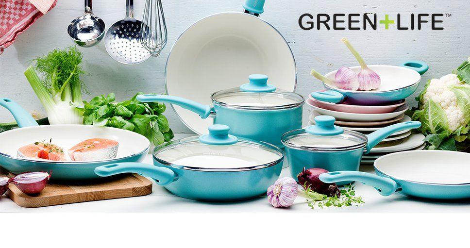Greenlife wayfair ceramic cookware set cookware set