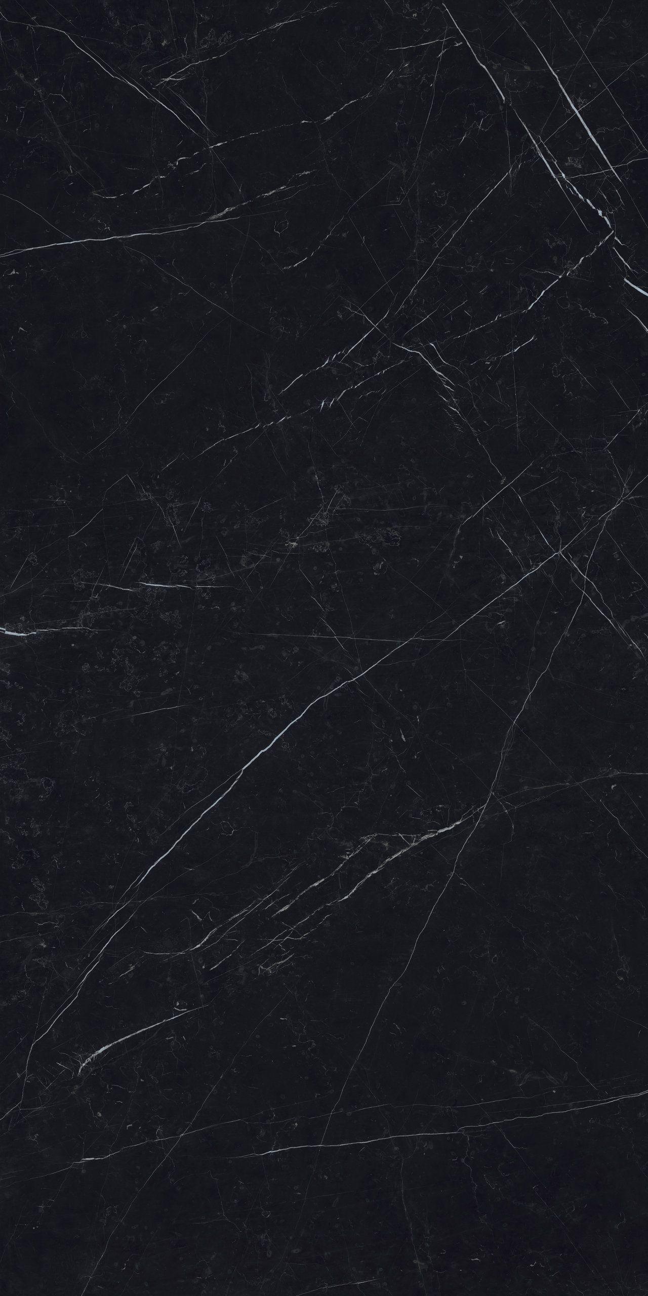 Dark marquina Marmi maximum, black marble/granite effect floor and wall coverings