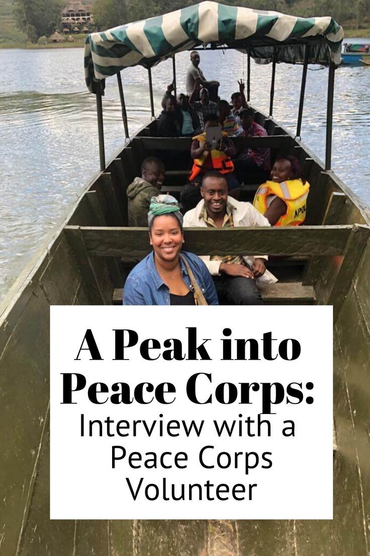 A Peek into Peace Corps Interview with a Peace Corps
