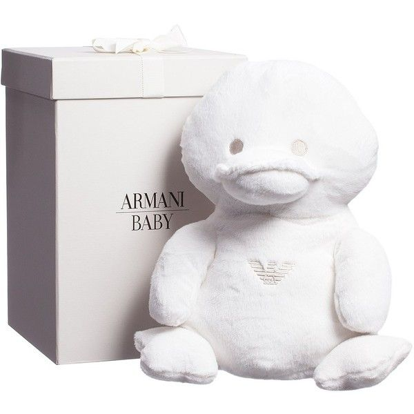 Armani Baby Large Soft Toy Duck In A Gift Box 35cm Designer Baby Gifts Baby Gifts Toys