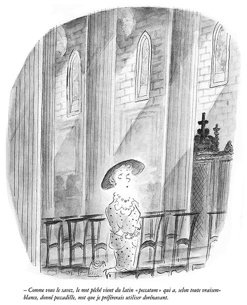 """(Продолжение. Начало подборки см. здесь ) Этот выпуск посвящён в основном ранним работам Jean-Jacques Sempé (в период с 1955 по 1962) и его карикатурам с текстом (в том числе и гипертекстовым картинкам). Ниже, почти подряд, представлены 14 чёрно-белых работ из сборника """"CARTOONS THE…"""