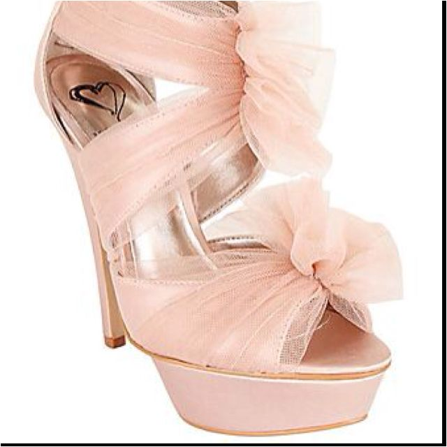 Pink Tulle Shoes
