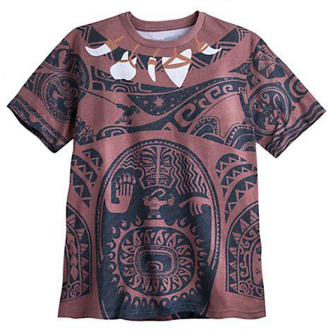 Maui tee for men disney moana men 39 s shirts pinterest for Maui shirt tattoo