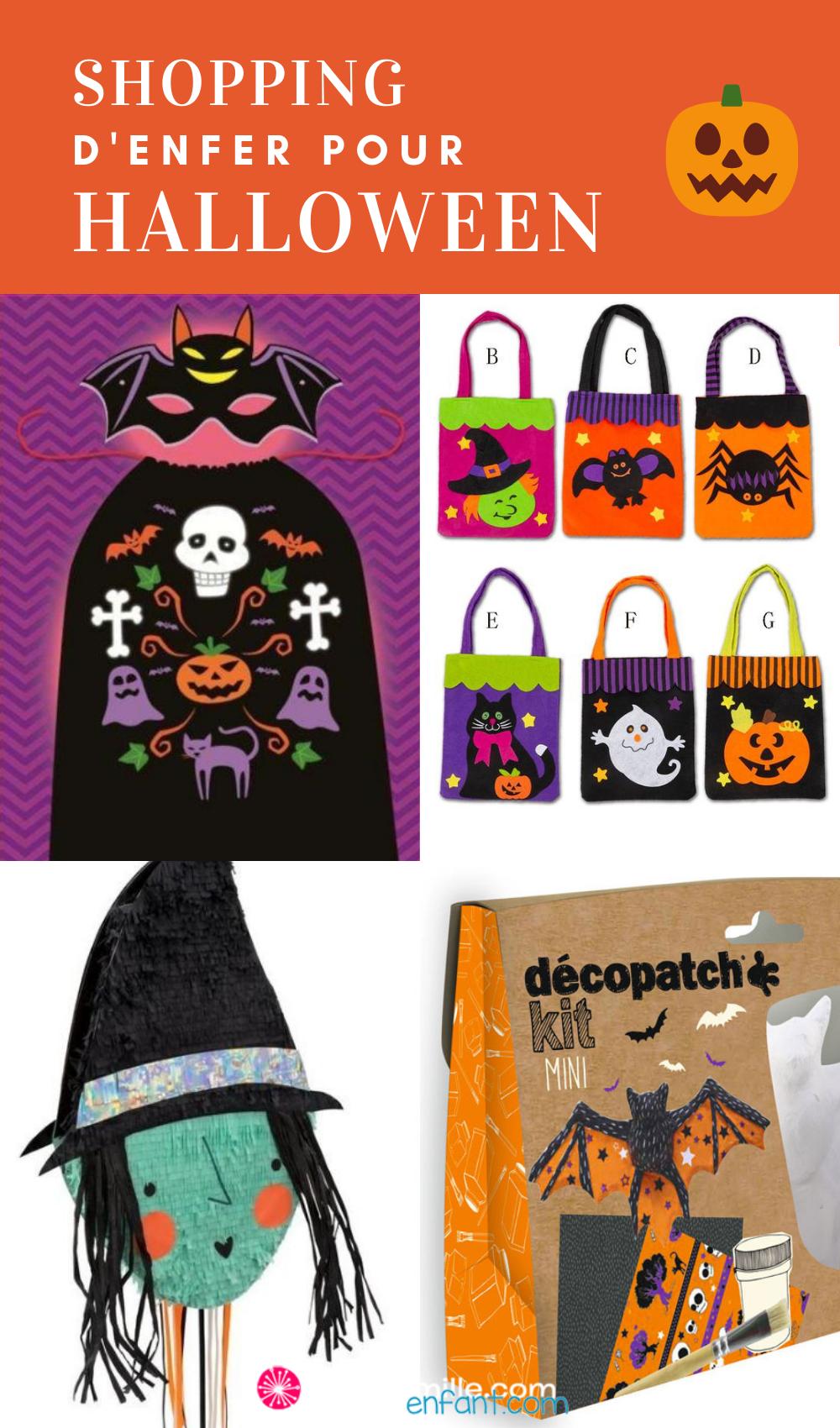 Diaporama Shopping D Enfer Pour Halloween Halloween Petit Monstre Faire La Fete