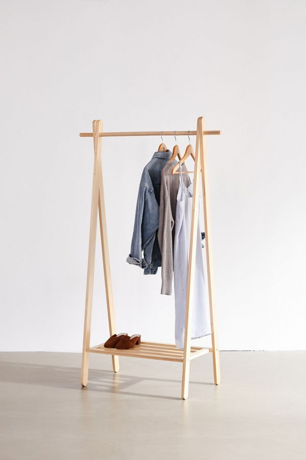 Wooden Clothing Rack Wood Clothing Rack Clothing Rack Diy Clothes Rack