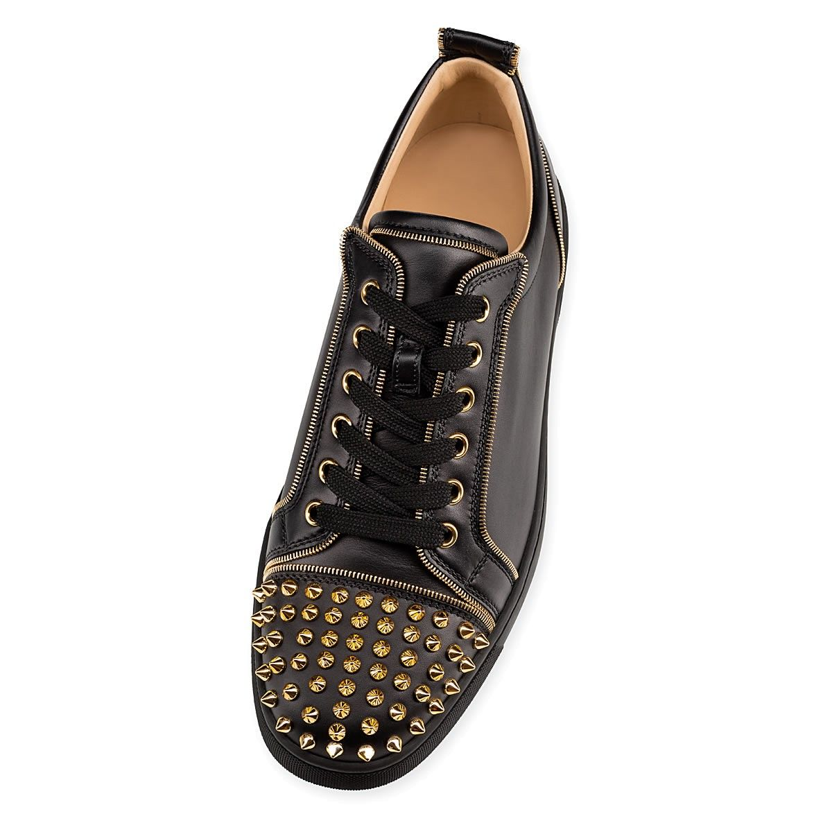 ed8442d1ac81 Souliers - Junior Zip Spikes Calf - Christian Louboutin