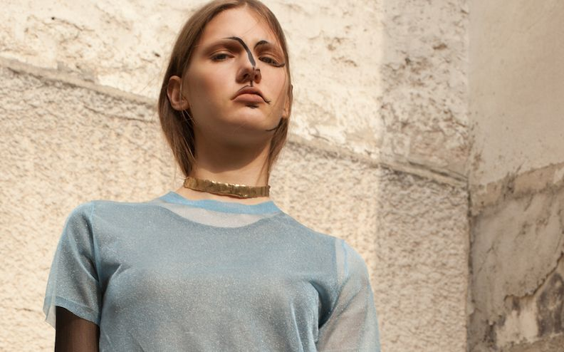 visual optimism; fashion editorials, shows, campaigns & more!: pina: celine coureau and sophie schleidweiler by niclas heikkinen for grit magazine!