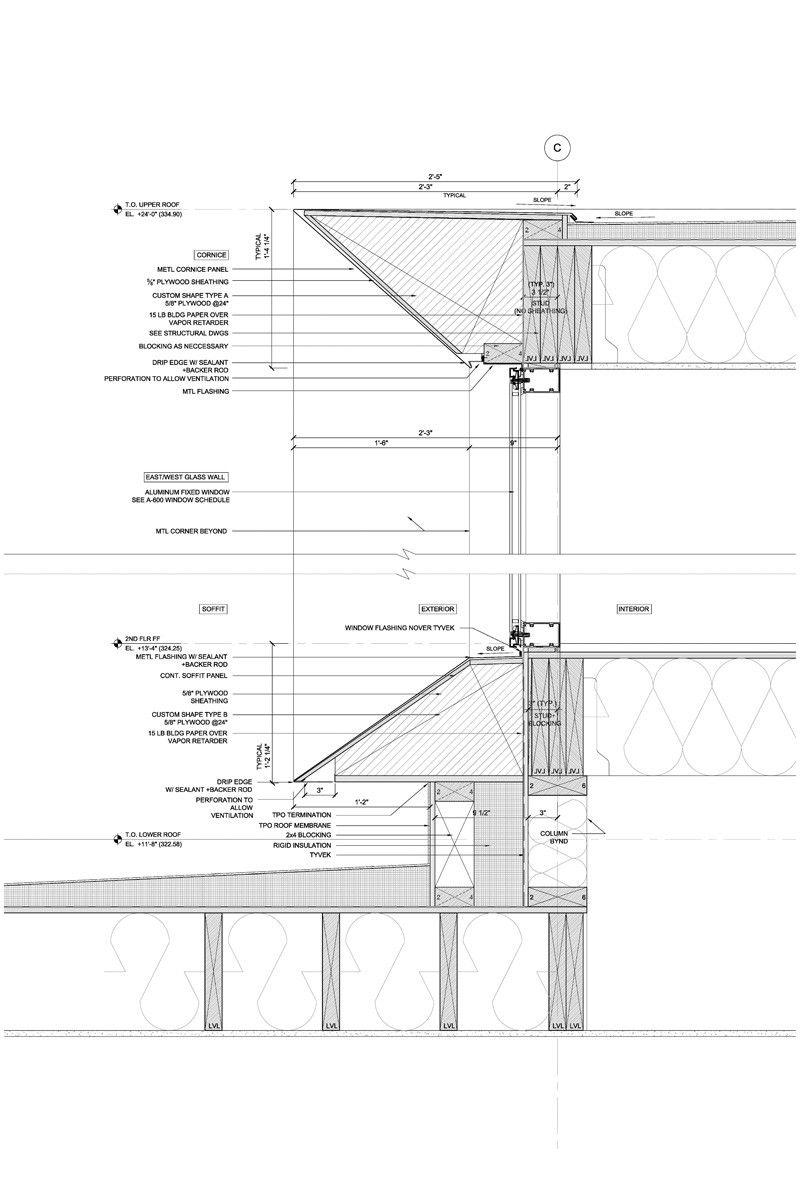 Bridge House 020615 23 Architecture Drawing Architecture Design Architecture Details