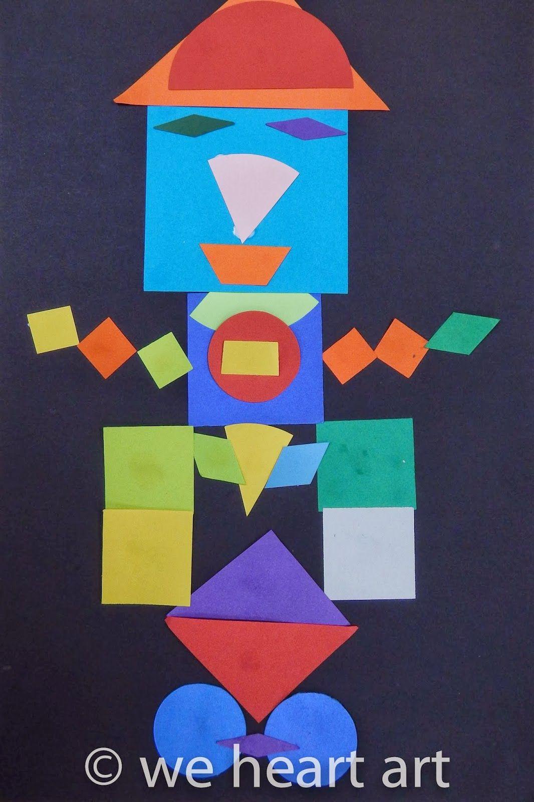 We Heart Art Geometric Shape Monsters