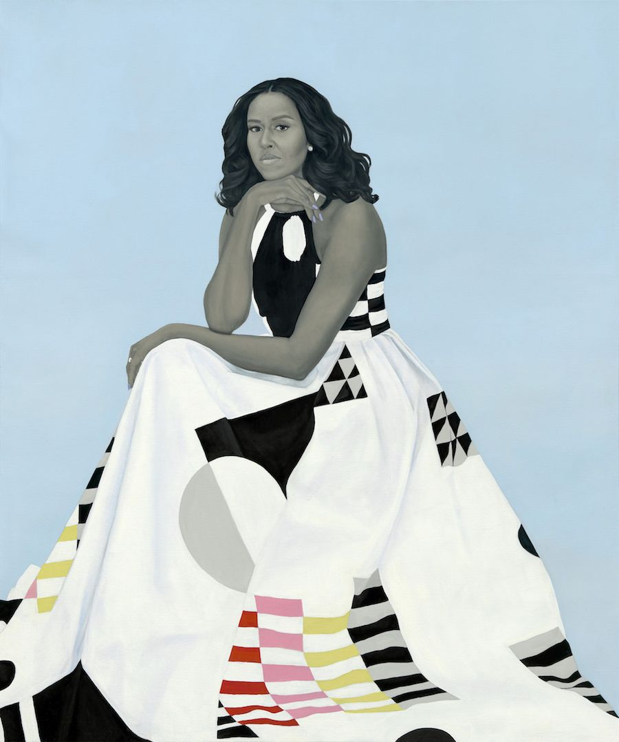 The First Lady Original Interpretation Michelle LaVaughn Robinson Obama