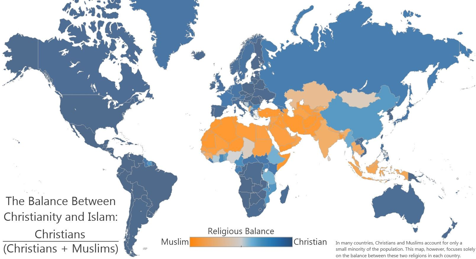 The Balance Between Christianity and Islam | Maps and Atlas ... on algeria in the world map, freedom in the world map, india in the world map, california in the world map, daoism in the world map, north america in the world map, christmas in the world map, russia in the world map, abortion in the world map, sikhism in the world map, buddhism in the world map, germany in the world map, racism in the world map, ireland in the world map, australia in the world map, israel in the world map, democracy in the world map, hawaii in the world map, egypt in the world map, cancer in the world map,