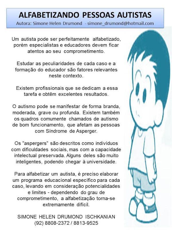 Extremamente Atividades para alfabetização de crianças autistas – Educação  ON34