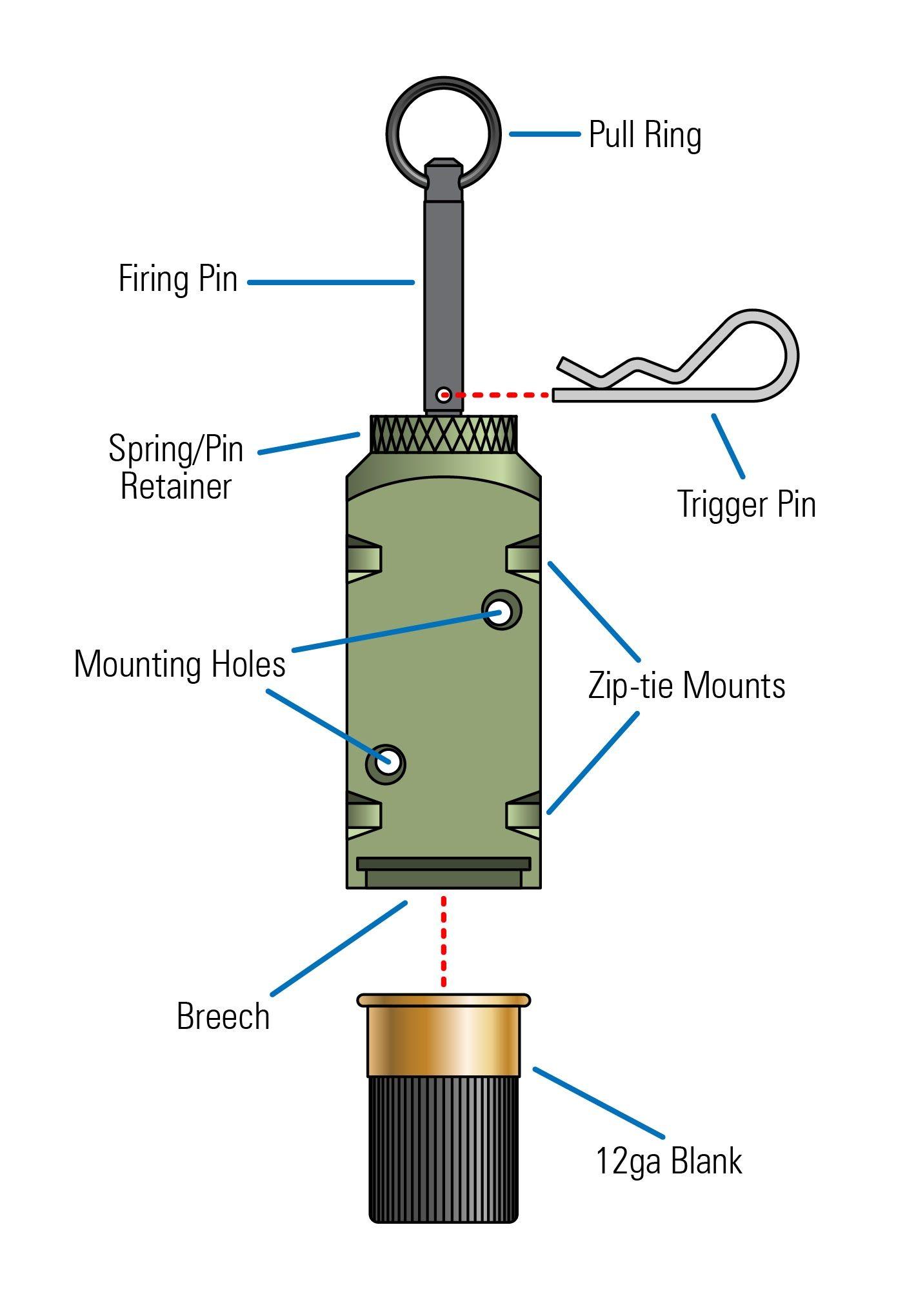 small resolution of fithops 12 ga tripwire alarm 30