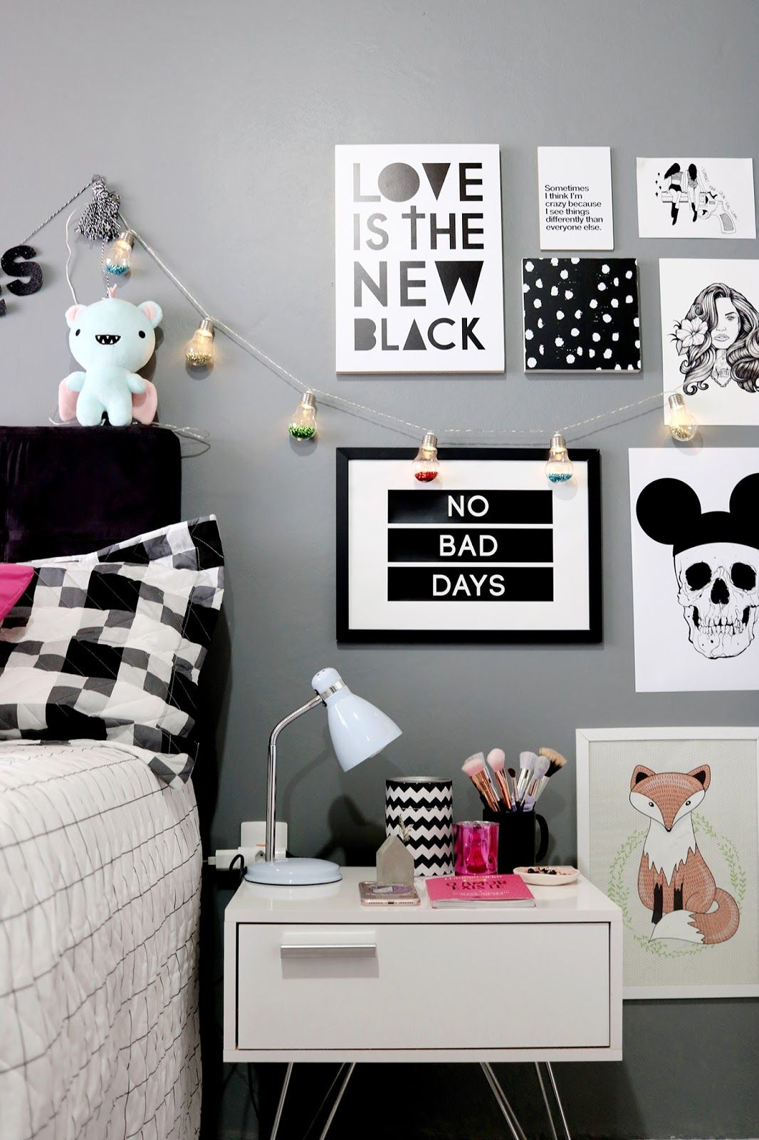 Tour pelo quarto decora o tumblr schlafzimmer ideen for Jugendzimmer tumblr