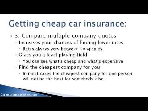 Lowest Car Insurance Rates In Ontario Get Cheap Rates Car