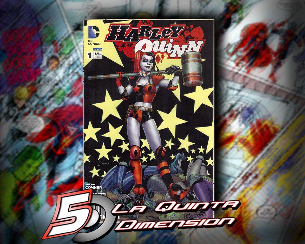 HARLEY QUINN # 1 En español, de Editorial Televisa. $ 100.00 www.facebook.com/La5aDimension/