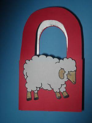 Escolinha Bíblica da Garotada: Lembrancinha de Páscoa...feita com caixa de leite ...