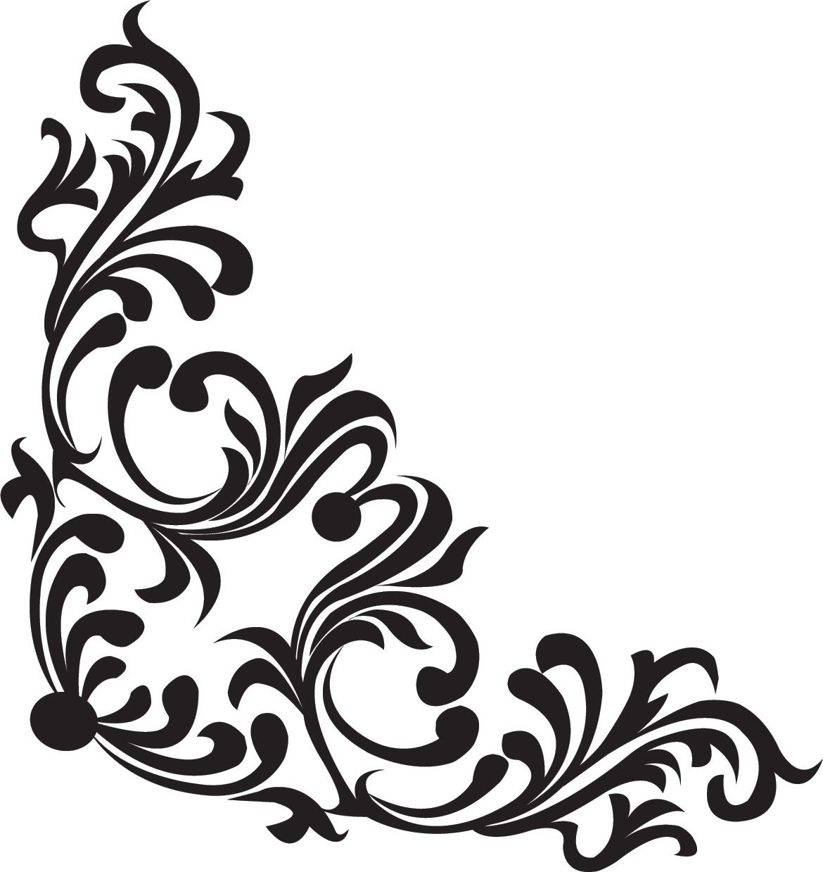 border | вензеля | pinterest | 白黒、イラスト、ステンシル