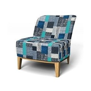IKEA Stockholm Easy Chair In Castellar Indigo   Bemz   Covers For Your  Sofa, Armchair