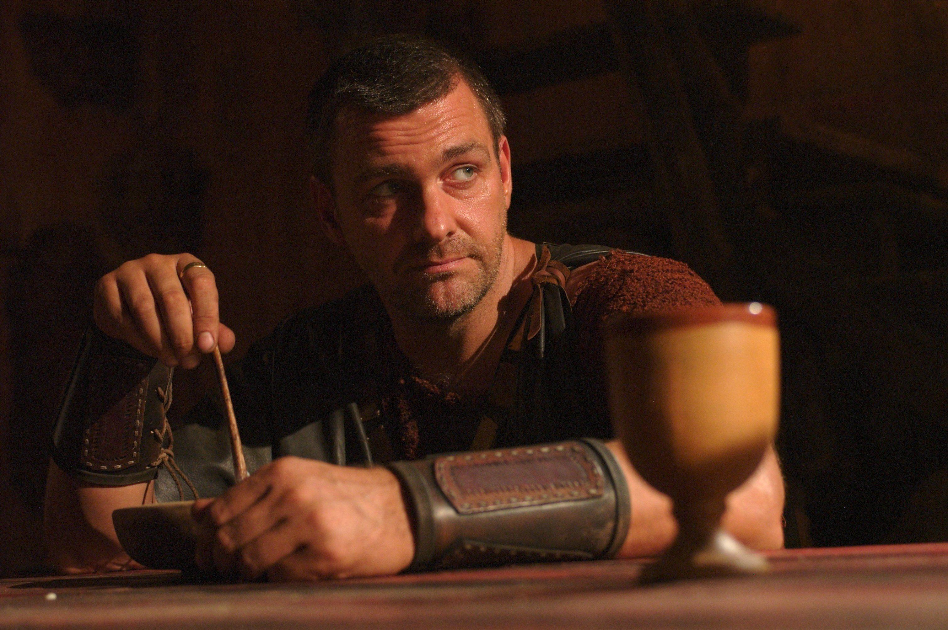 Rome - Titus Pullo | Ray stevenson, Rome tv series, Hbo series