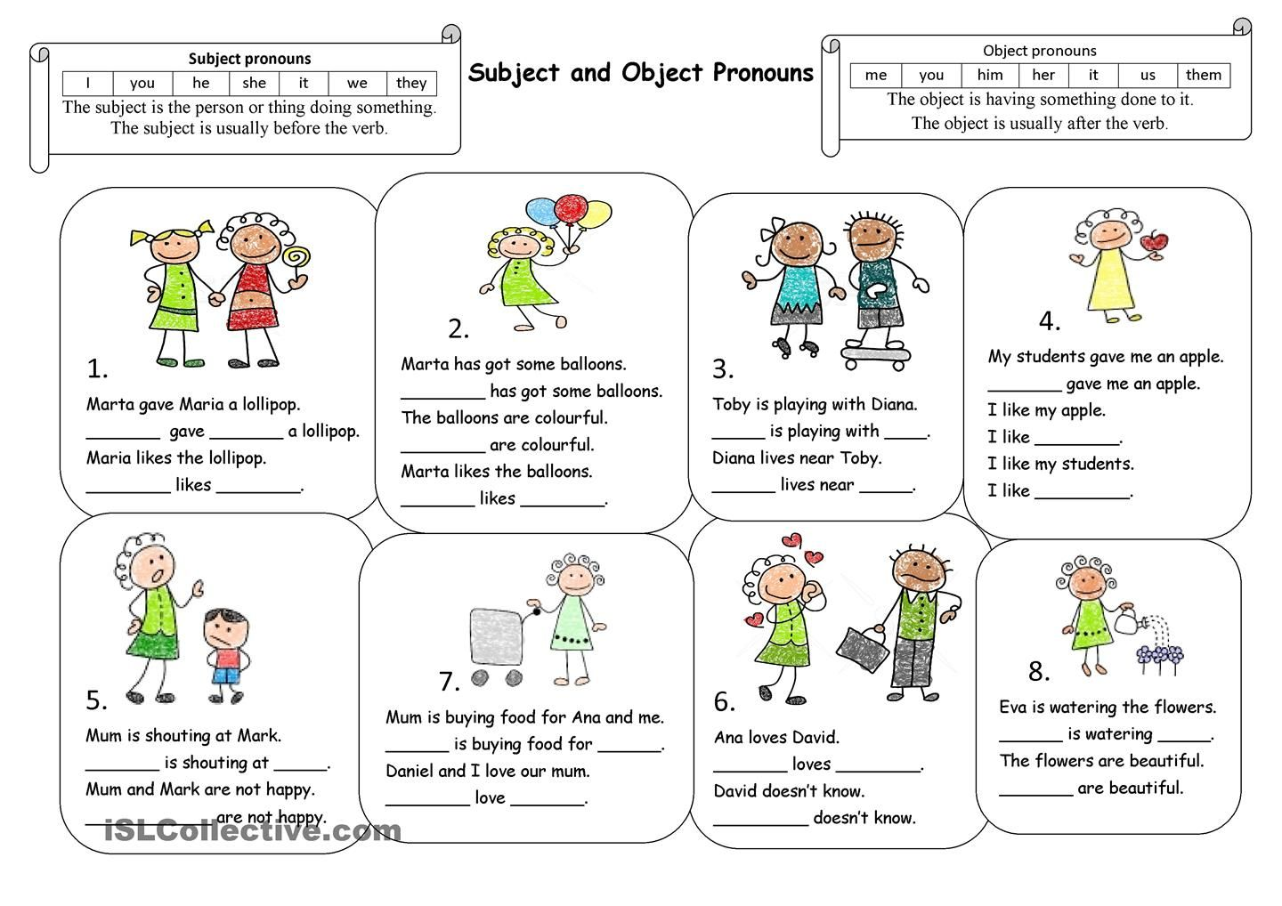 worksheet Esl Subject Pronouns Worksheet esl pronoun chart google search teach english tools pinterest search