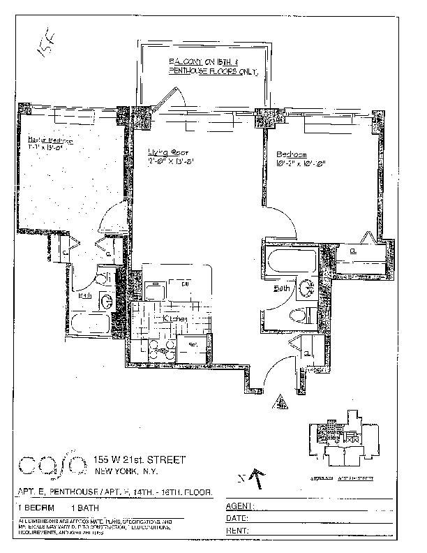Streeteasy Casa At 155 West 21st Street In Chelsea 15f Sales Rentals Floorplans Streeteasy In 2020 Floor Plans Street Apt