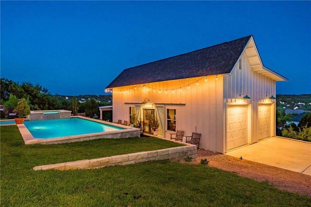 Delightful Farmhouse Inspired Home Nestled In Texas Hill Country Inspired Homes Hill Country Custom Home Designs