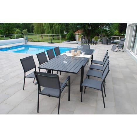 salon de jardin vittal 10 personnes | patio | pinterest | patios
