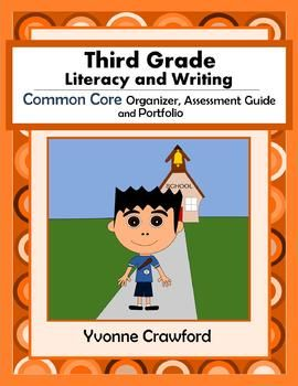 For 3rd grade - The Common Core Organizer, Assessment Guide and Portfolio for Third Grade Literacy and Writing is full of tools that you can use to teach and assess third grade Common Core Language Arts skills to your class throughout the school year. $