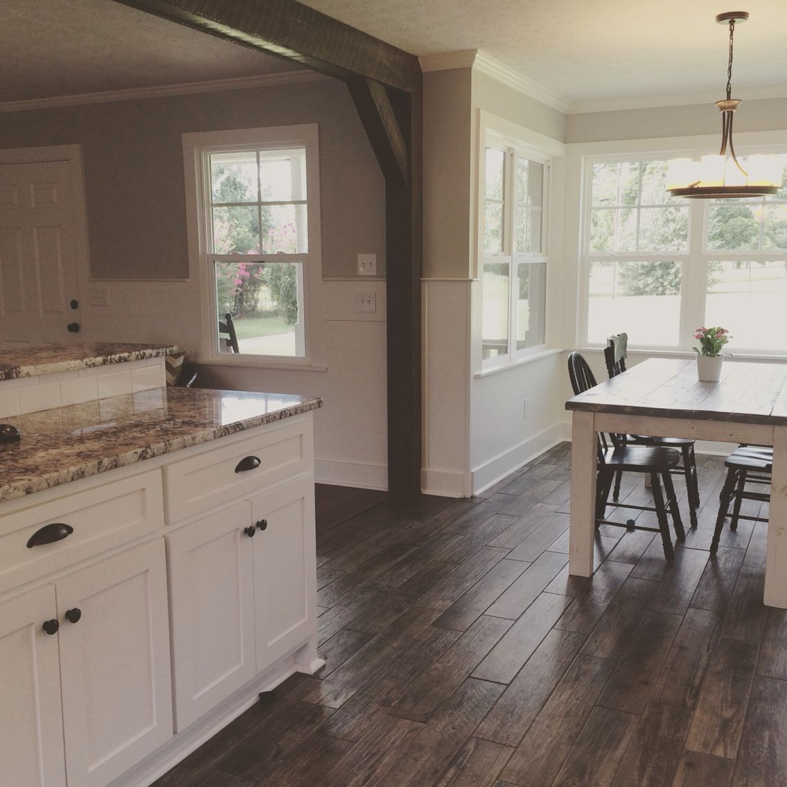 Kitchen Wood Tile Floor Aid Refrigerator Parts Remodel Farmhouse Style Shiplap Cold Spring