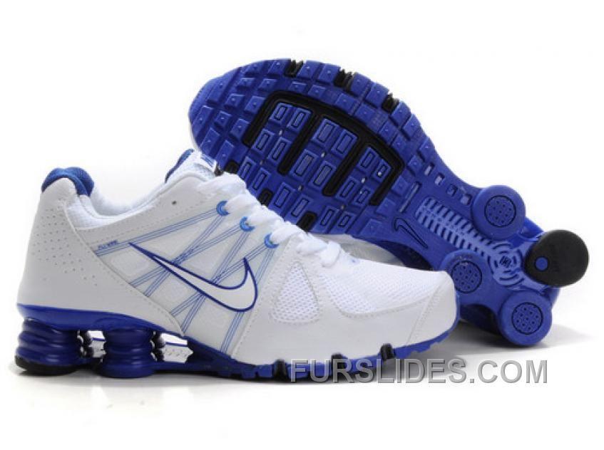 cheaper ee2f4 d0acc Men's Nike Airmax 2009 & Shox R4 Shoes White/Dark Blue Super ...