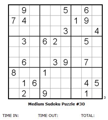 It's just a graphic of Medium Sudoku Printable inside pdf