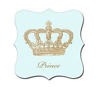 Luxe Shaped Crown Stickers