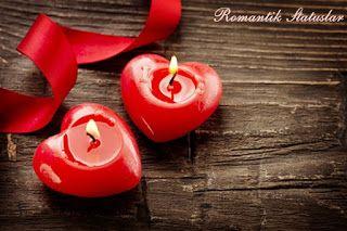 Romantik Statuslar Romantik Sevgi Statuslari Sevgiye Aid Romantik Statuslar Dostluga Aid Roma Beautiful Candles Red Heart Candles Valentine Day Gifts
