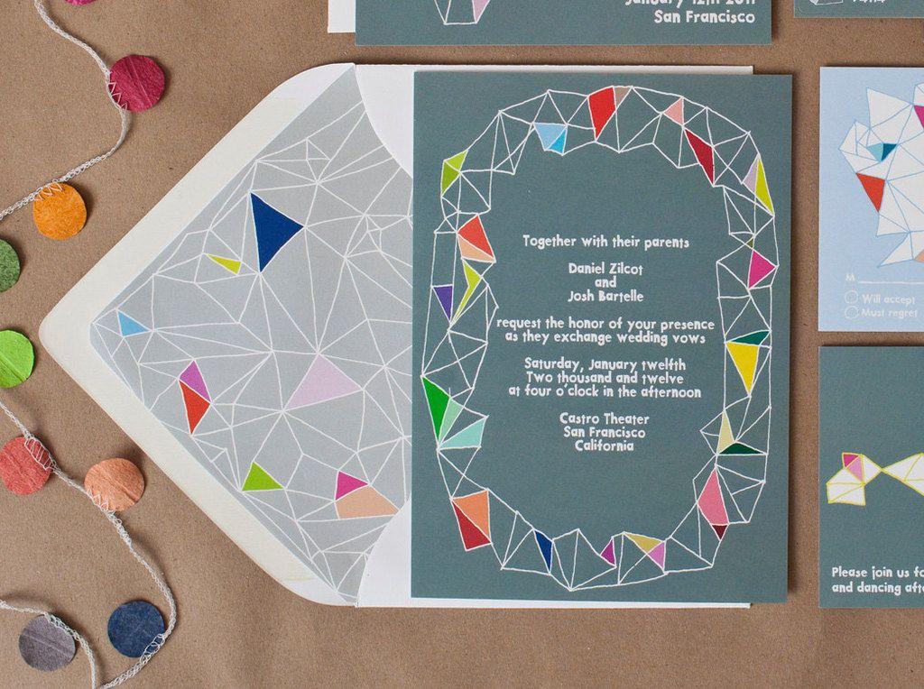 Colorful Kites wedding invitation | STS Doc | Pinterest | Kites