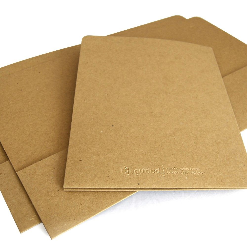 Recycled Presentation Folder - Two Pocket | Presentation folder ...