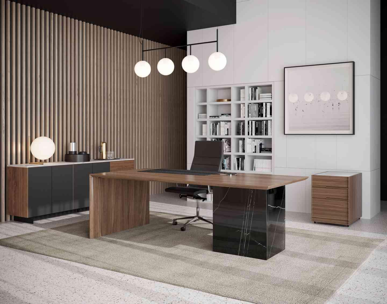 Gia desk in 2021 office interior design modern
