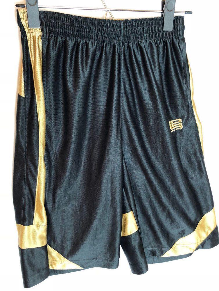 aa2eef6f19ab Nike Basketball Shorts LeBron James Size Large Boys Black Gold Pockets   Nike  Everyday