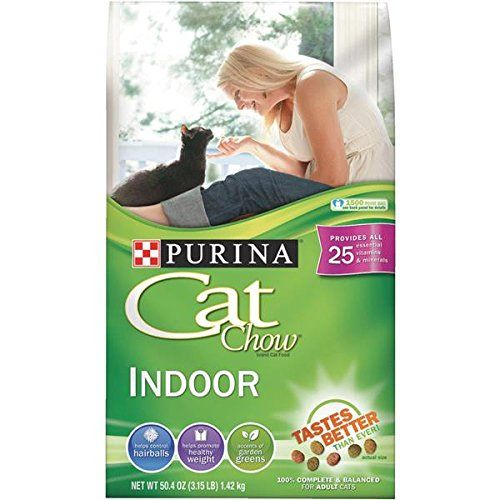 Purina Cat Chow Indoor Formula Cat Food 1 Each Click